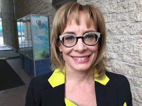 Branch manager Wendy Gnenz oversees Edmonton's open data initiative.