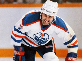 Edmonton Oilers defenceman Paul Coffey in an undated photo from the 1980s.