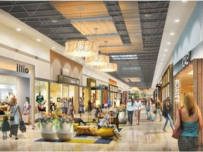 The Premium Outlet Collection mall at the Edmonton International Airport is scheduled to open in May 2018.