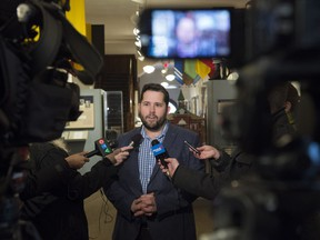 Edmonton public school board chairman Michael Janz announced his intent to request that the provincial government allow public school districts to operate Catholic programs.
