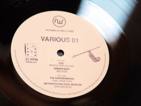 The vinyl incarnation of Edmonton label Normals Welcome's Various 01.
