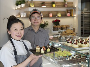 Siblings Kai Wong and David Wong have opened a new patisserie and lunch spot on 124 St. called Chocorrant.