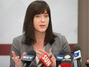 Jill Clayton, the Information and Privacy Commissioner. File photo.