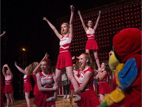 Strathcona High School's production of Bring It On at the ATB Arts Barns on April 19, 2017.