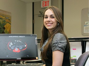 Carla Prado, director of the University of Alberta's human research unit, is shown in this file photo from April 2010.
