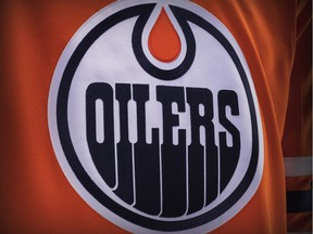 Adidas unveils the new design for the Edmonton Oilers' home jersey for the 2017-18 NHL season on June 20, 2017.