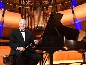 The distinguished Edmonton conductor and pianist Michael Massey is giving a recital in the third biennial Alberta Pianofest, which runs from July 6 through July 22. Massey will be giving a recital that includes Brahms and Medtner at Holy Trintiy Anglican Church on Saturday, July 22 at 7:30 p.m. and playing in the late-night piano extravaganza at Brittany's Lounge on Saturday, July 15 at 10:30 p.m.