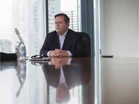 UCP leadership candidate Jason Kenney at the Edmonton Journal building on August 4, 2017.  Photo by Shaughn Butts / Postmedia Shaughn Butts, Postmedia