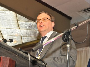 Karl Germann, president of the Council of Catholic School Superintendents of Alberta and and superintendent of the Grande Prairie Catholic school district, said Thursday, Oct. 19, 2017 that a draft parallel human sexuality curriculum the Catholic school superintendents are developing should be ready to be submitted to Alberta Education in three weeks.