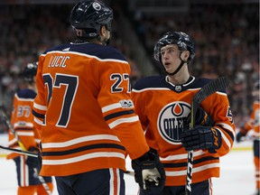 Kailer Yamamoto found himself playing with the big boys for a time last fall.