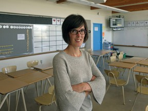 Renée Englot is a teacher at Ottewell Junior High School in Edmonton. Her Grade 9 class is advocating for new high schools in Edmonton by writing letters to their school trustee candidates, MLAs, and the education minister.