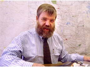 Tom Payne, president of Central Western Railway, pictured on July 31, 1995.