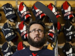 Reporter Juris Graney is about to embark on a 12-week program to learn how to play hockey.