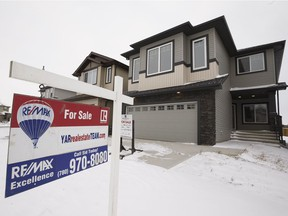 A report released Wednesday by Royal LePage indicated the average price of an Edmonton home rose by 2.3 per cent, to $386,532, between the final quarter of 2016 and the same period last fall.
