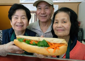 Loi Van Thai and his sisters Yen Ngoc Thai and Anh Ngoc Thai have owned and operated Van Loc Vietnamese Submarine shop in Edmonton since 1997.
