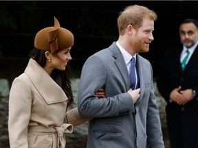 Britain's Prince Harry and his fiancee Meghan Markle will wed May 19, and the Fairmont Hotel Macdonald is hosting a viewing party.