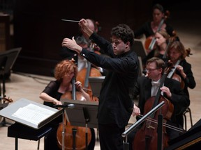 Edmonton Symphony Orchestra's chief conductor, Alexander Prior, delivered a masterful version of Bruckner's Symphony No. 9 at the Winspear Centre on Friday, Sept. 28.