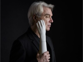 David Byrne is at the Jubilee Auditorium Sunday night.