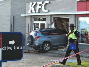 Catherine Marie Triplett, 86, died after being run over outside a west end KFC on July 18, 2018.