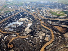 An aerial view of Canadian Natural Resources Limited oilsands mining operation near Fort McKay, Alta. CNRL signalled in a Jan. 22, 2019, letter that curtailment efforts could lead to job cuts in Bonnyville, Elk Point and Lloydminster.