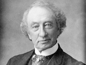 Sir John A. Macdonald pictured in old age, when he implemented all the most damaging policies against Canadian Indigenous.