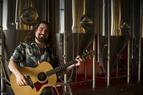 Ryan Adam Wells spills his heart out for 60 minutes in Beers About Songs at Stage 21 in the El Cortez Mexican Kitchen and Tequila Bar.