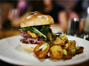 Rostizado has a new lunch menu, featuring tacos, kale salad and a Mexican-style burger. Photo by Dongbu San