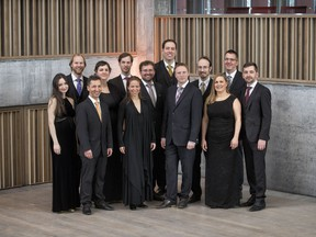The prize-winning Belgian vocal group and baroque music specialists Vox Luminis performed at Robertson-Wesley United Church on Monday, Oct. 15.