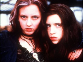 Katherine Isabelle and Emily Perkins star in Ginger Snaps, opening Not Your Final Girl film fest Friday at Metro.