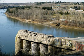 The City of Edmonton announced details on Monday Oct. 22, 2018 about the upcoming construction of the new Keillor Point project in southwest Edmonton, the site commonly referred to as the End of the World, which was a popular spot overlooking the North Saskatchewan River.