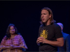 Kory Mathewson is an improv performer, and the co-creator of Improbotics, launching Jan. 12 at Rapid Fire Theatre.