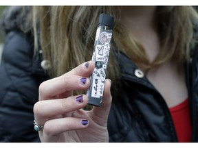 An Edmonton city councillor wants to know if the city can do anything to restrict the advertising of vaping products to minors.