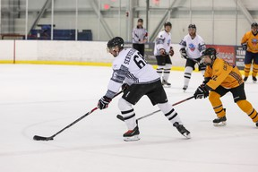 The annual Face Off Pro-Am Hockey Tournament, supporting the Alzheimer Society of Alberta and Northwest Territories, takes place April 27-28 at Terwillegar Recreation Centre in Edmonton.