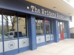 The Writer's Room, located at 11113 87 Avenue near the University of Alberta, offers tasty food and a literary theme.