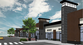 The Royal Keswick Centre will contain roughly 25,000 square feet of shopping space over 2.5 acres of land.