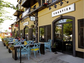 Chartier in Beaumont has some summer dinners and sippers organized between now and the end of August.