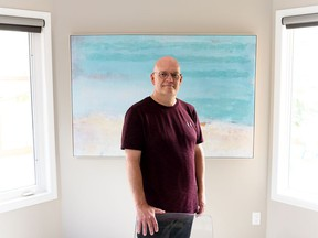 Kevin Schultz, seen at home in Edmonton, went through conversion therapy in 2005.