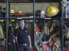 Former Lesser Slave Lake Regional Fire Services chief Jamie Coutts is one of four veteran firefighters to star in Discovery TV's show Hellfire Heroes, which airs next Tuesday, Oct. 22, 2019.