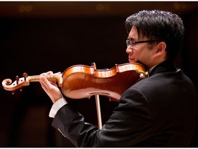 Ewald Cheung at Robertson-Wesley United Church on July 29.