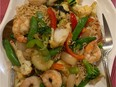 The drunken noodles at Noi Thai, located at 10724 95 St. in McCauley.
