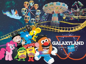 West Edmonton Mall announces Hasbro Licensing Agreement for Galaxyland Amusement Park. (Supplied photo/WEM)