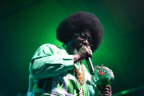 Afroman performed hits Colt 45 and Because I Got High at the Starlite Room.