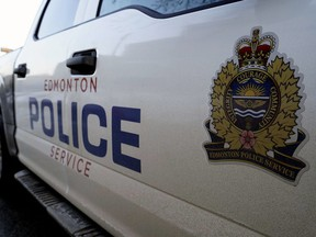 Stock photo of Edmonton Police Service (EPS) logo. (PHOTO BY LARRY WONG/POSTMEDIA) ORG XMIT: POS1902282246132550