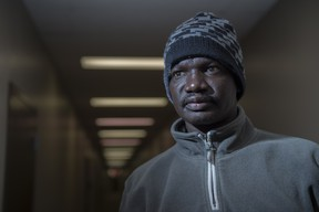 Riek Tut says he is unable to pay his rent, necessities and medical bills solely using his disability benefits, which he began receiving after being injured on the job in May 2018. He has been waiting for an affordable housing unit through Capital Region Housing since June 2019. The Edmonton Social Planning Council has released a new report, The High Cost of Waiting: Tenant-Focused Solutions to Enhance Housing Affordability on February 12, 2020.  Photo by Shaughn Butts / Postmedia