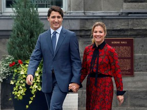 Prime Minister Justin Trudeau and his wife, Sophie Grégoire Trudeau.