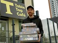 Brian Flowers of Table Top Cafe can't keep up with the demand for puzzles during the pandemic.