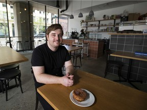 Jesse Gado of Rosewood Foods, which opened in mid-April in downtown Edmonton at 10050 100 St.
