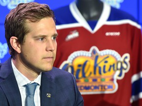 Edmonton Oil Kings president of hockey operations and general manager Kirt Hill.