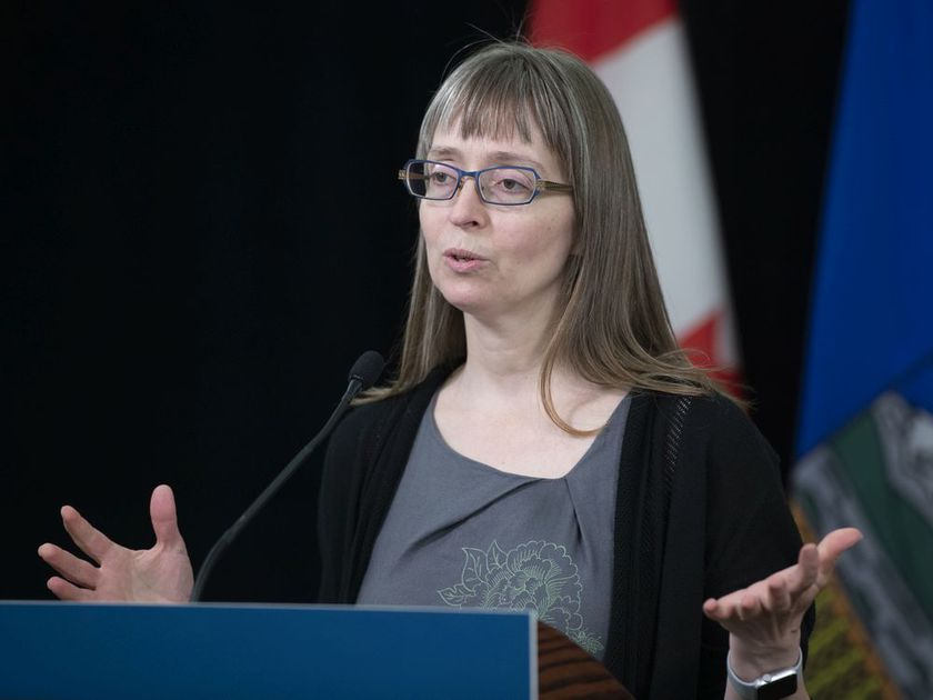 Alberta's chief medical officer of health Dr. Deena Hinshaw provided an update, from Edmonton on Wednesday, June 3, 2020, on COVID-19 and the ongoing work to protect public health.