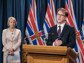 Provincial health officer Dr. Bonnie Henry and Health Minister Adrian Dix will give the latest figures on newly confirmed cases, deaths, recoveries and more.